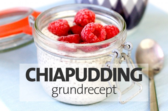 Grundrecept chiapudding
