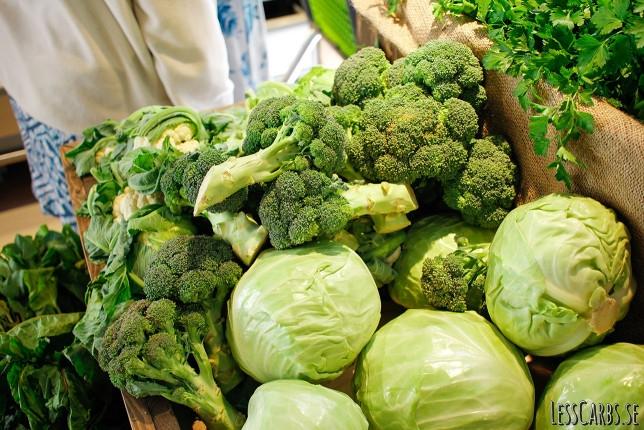 Lesscarbs grönsaksguide – istället för pasta, ris och potatis