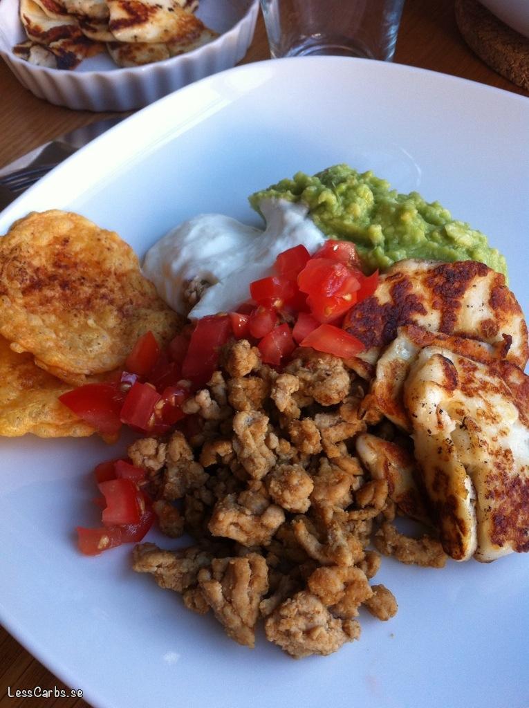Tacofärs med smak av ingefära, chili och spiskummin
