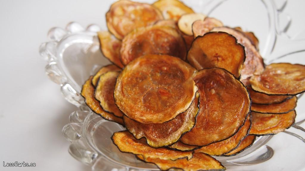 Zucchinichips – nyttigt och otroligt gott snacks