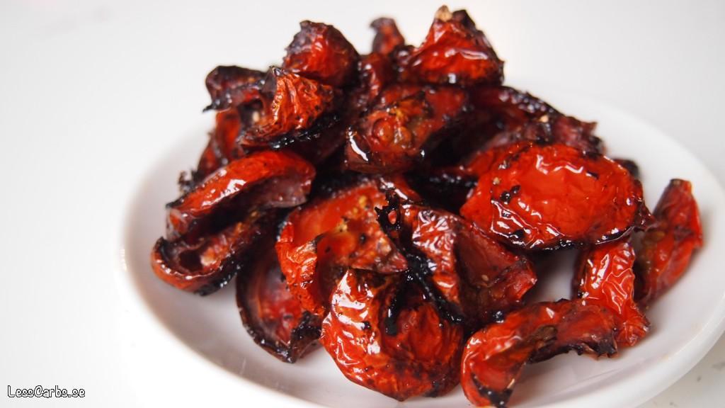 Torkade tomater – utmärkt som ett tillbehör eller i salladen!
