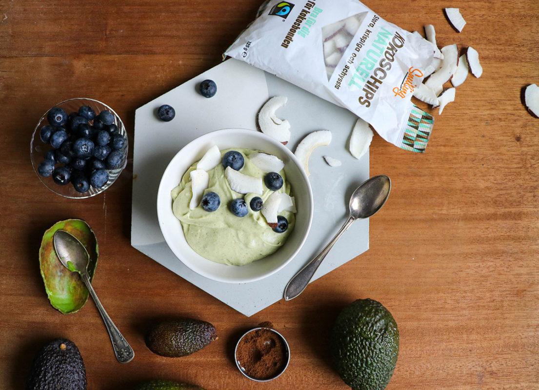 Kokosyoghurt med avokado