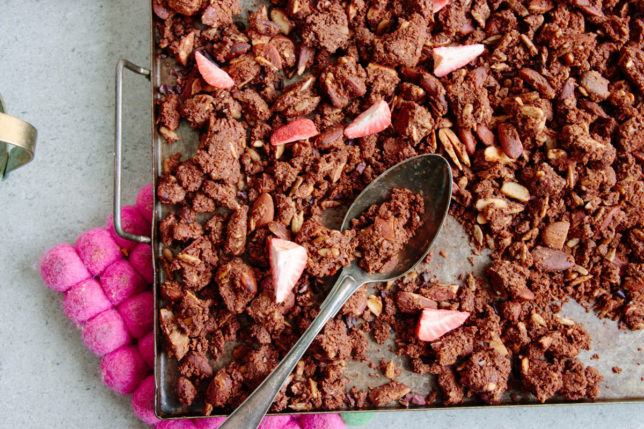 Chokladgranola – Mitt nya och äldre recept