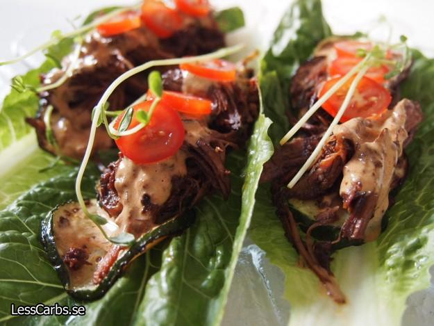 LCHF Recept: Pulled Beef