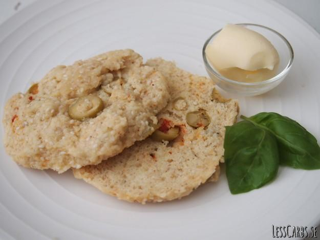 Microbröd med oliver LCHF – Glutenfritt bröd