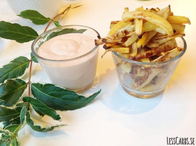 Recept: Kålrotspommes