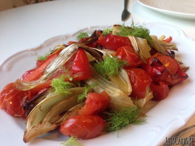 Mina rostade favoritgrönsaker – supergott snabbt tillbehör!