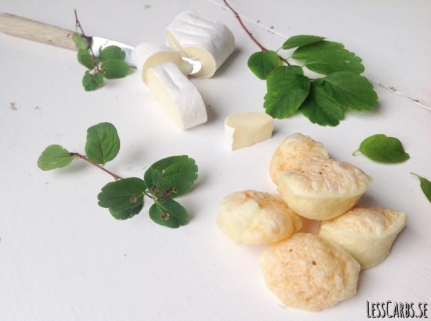 Brieostpuffar – supergott snacks!