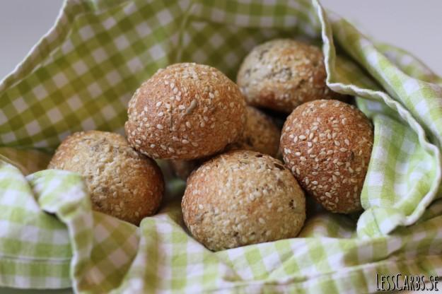 Lesscarbs snabba bröd