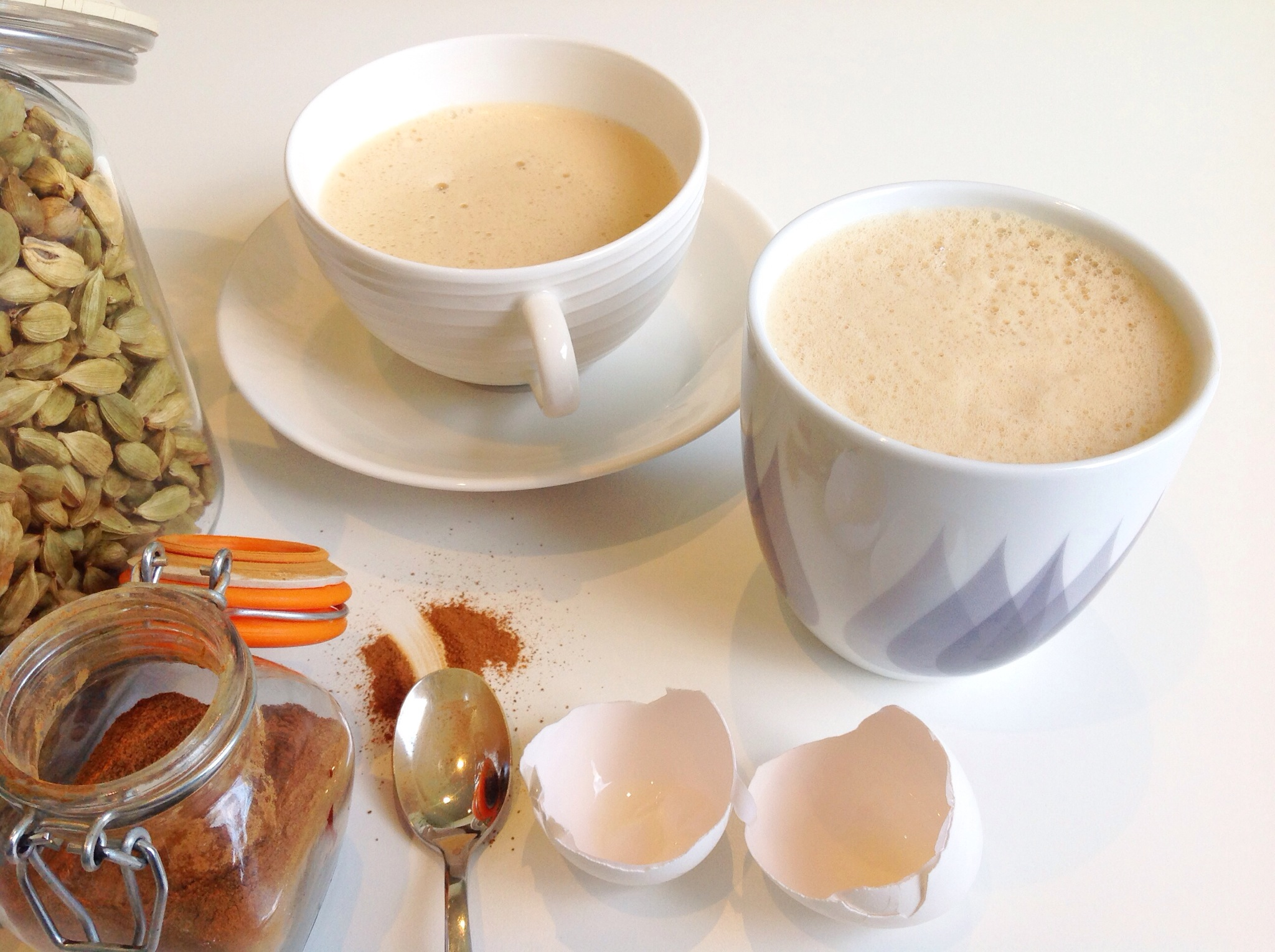 kokosolja i kaffet