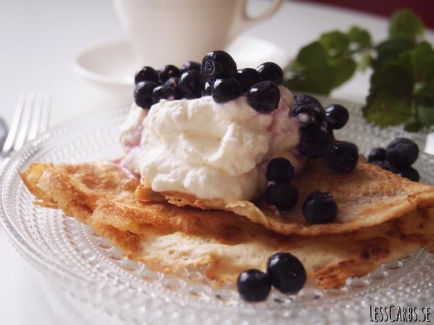 Mättande Pannkaka LCHF – passar både till sött o salt!