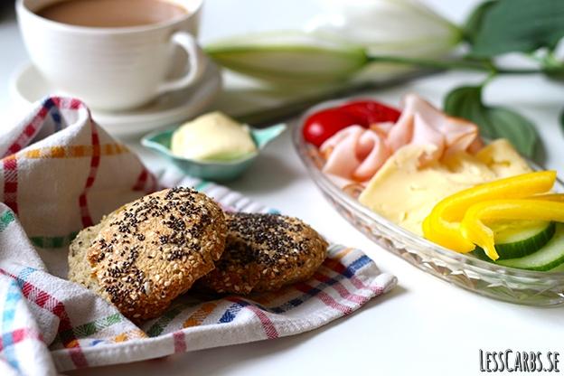 11 LCHF-bröd och goda tillbehör