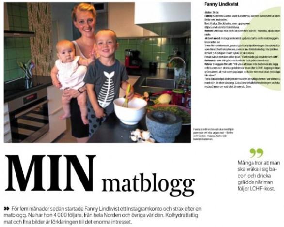 Intervju i Eskilstuna-Kuriren