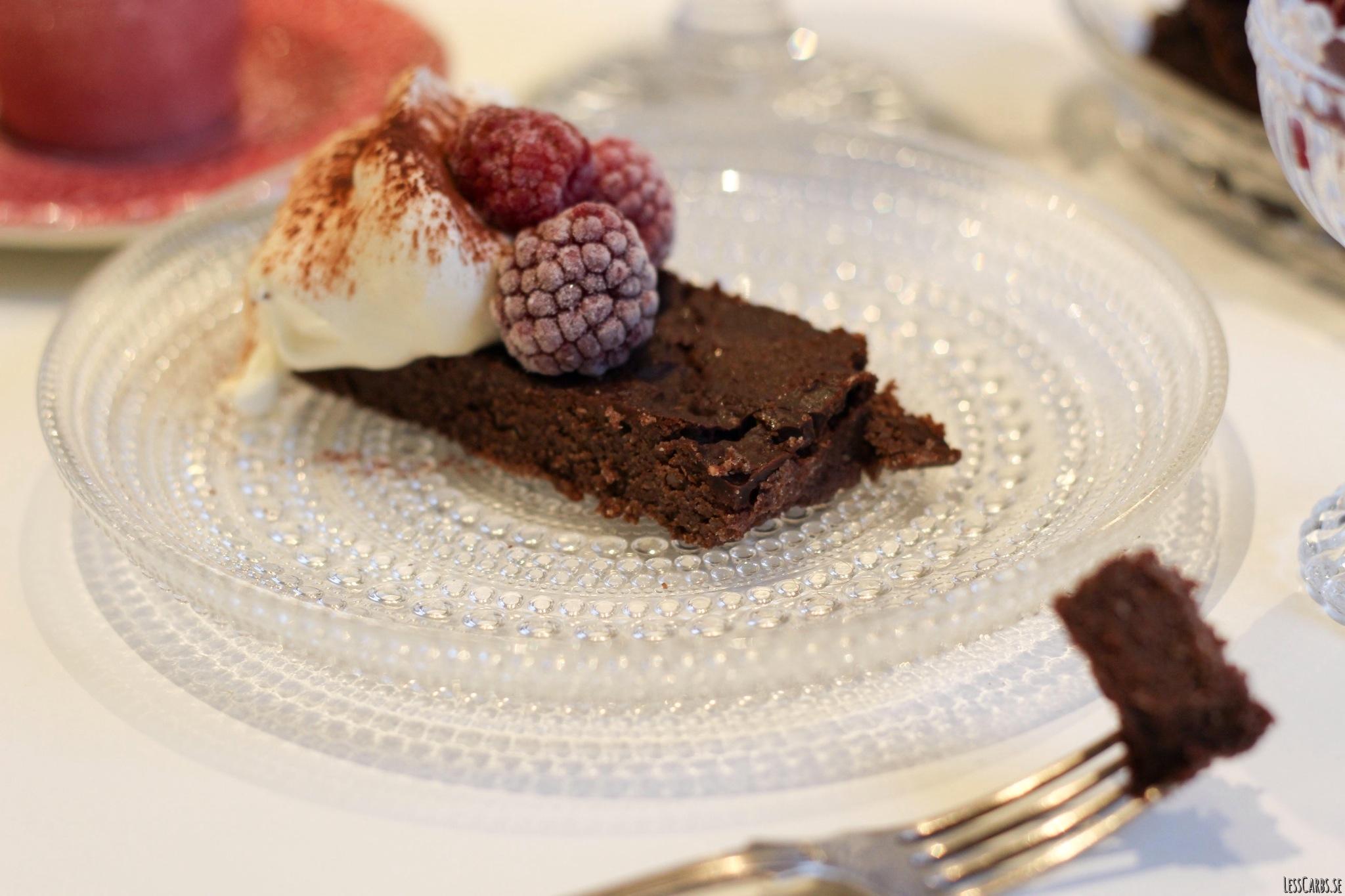 Lesscarbs brownie