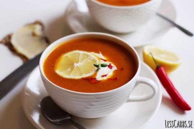 butternut soppa recept
