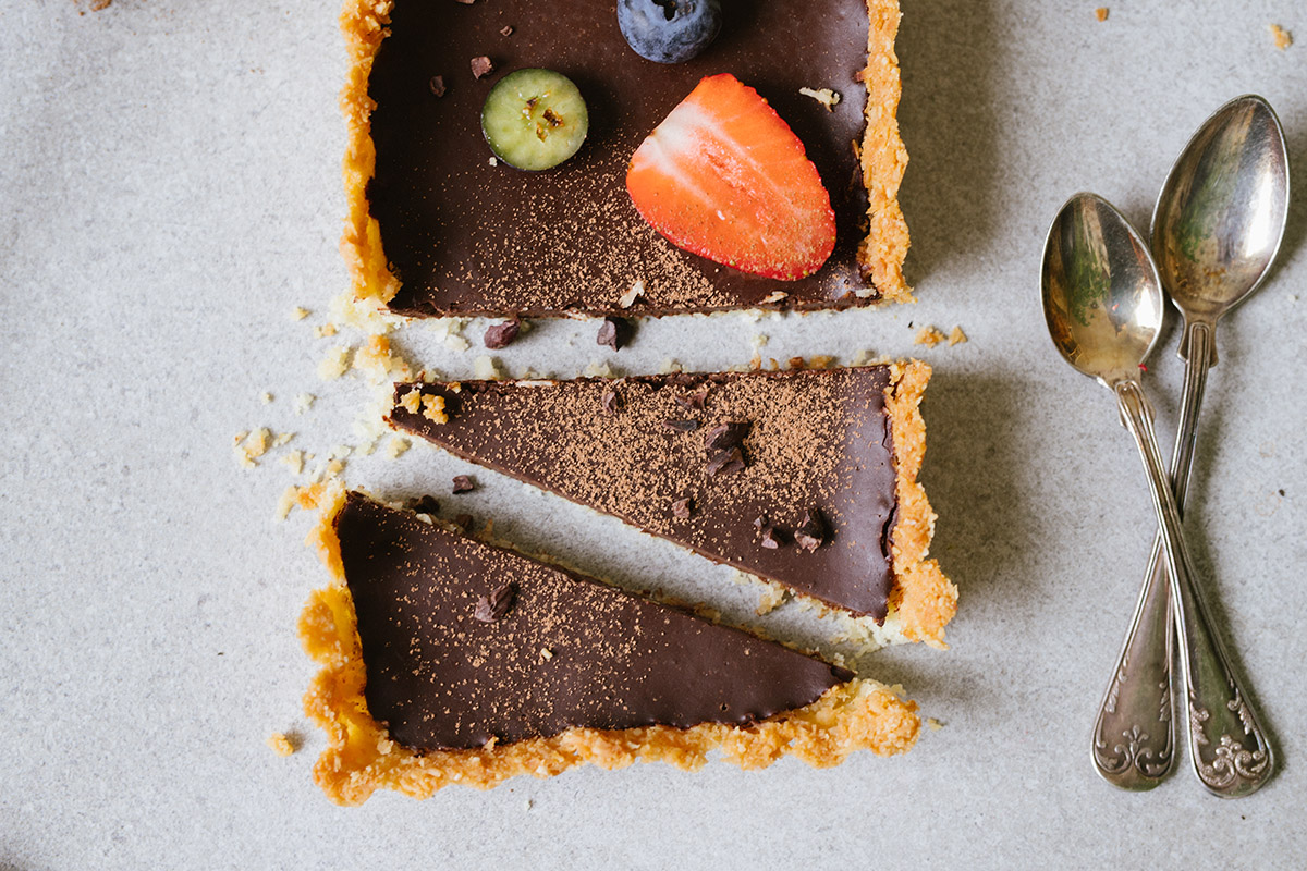 Superenkel chokladpaj