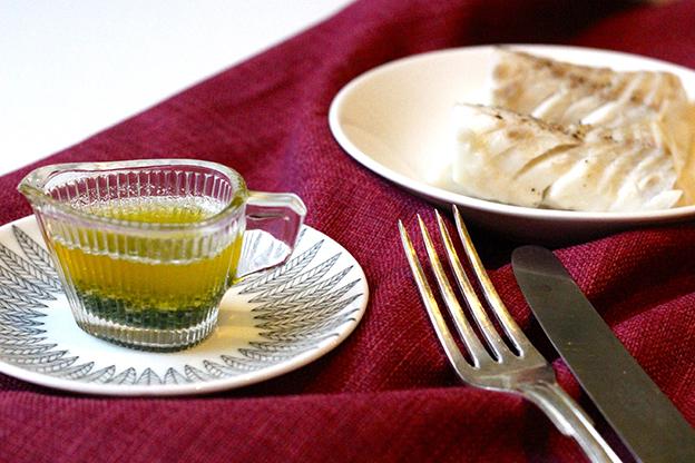 Ångkokt torsk med örtsmör – väldigt enkelt och snabbt!