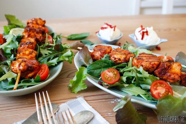 Enkla kycklingspett – smidigt recept som passar hela familjen