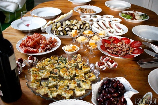 Spansk tapaskväll på landet – massor av godsaker!