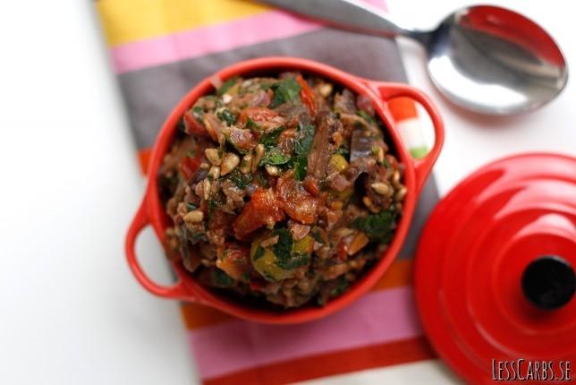 Caponata – enkel, somrig och supersmarrig grönsaksröra