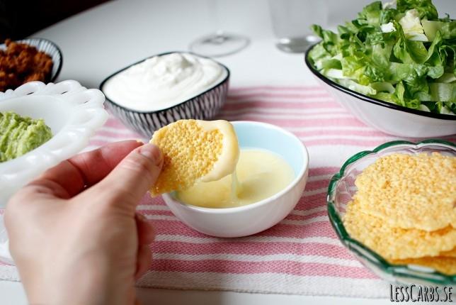 Cheesedipp – underbart krämig och perfekt till tacos!