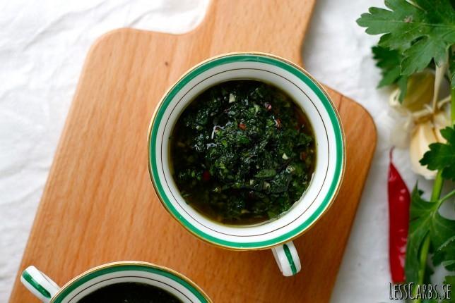 Chimichurri – supergod persiljesås, passar till det mesta!