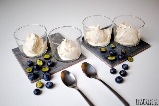 Vaniljglass LCHF – enkelt och supergott!