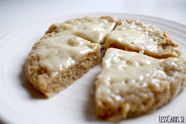 Enkelt microbröd med ost