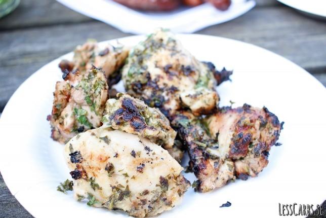 Somrig kyckling – blir absolut godast på grillen!