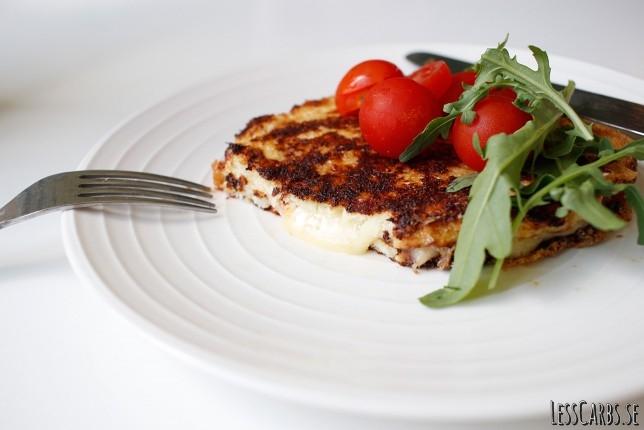 Blomkålstoast – LCHF/glutenfritt och ändå supergott!