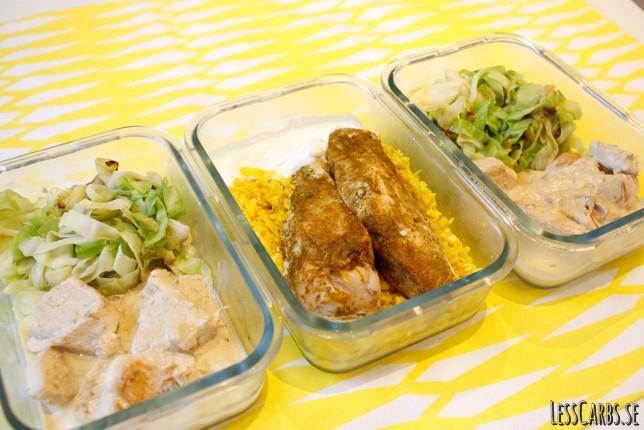 Veckans matlådor – Kyckling x 2
