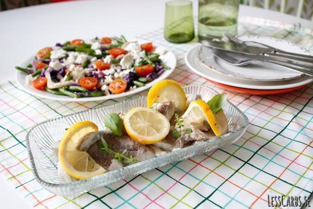 Ångad sej med kålsallad – en lätt och fräsch lunch!
