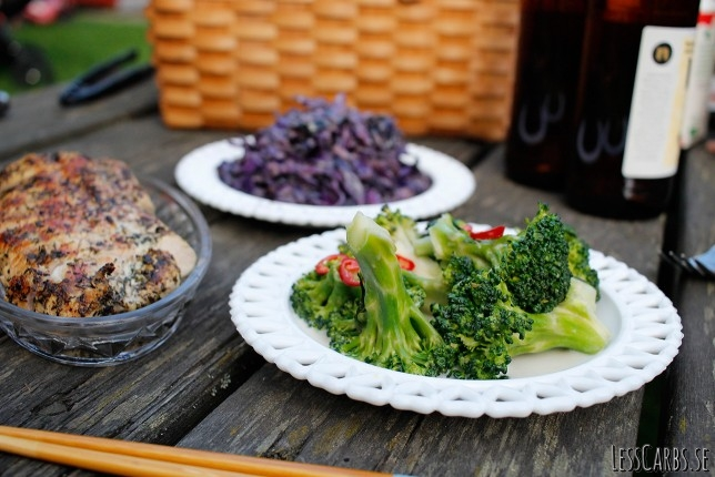 Broccoli- och kokossallad – ett supergott o enkelt tillbehör