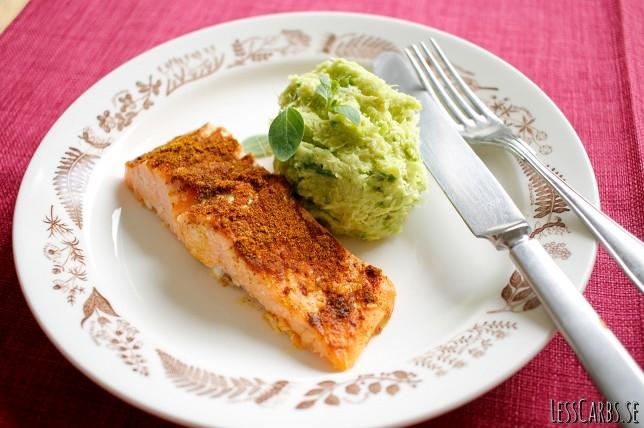 Currylax med broccolimos