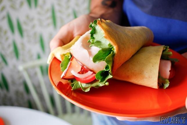 Grundrecept: Omelettwrap – Perfekt att ta med sig!