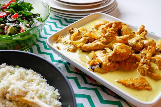 Lottens magiska kyckling med blomkålsris – mejerifritt o supergott!