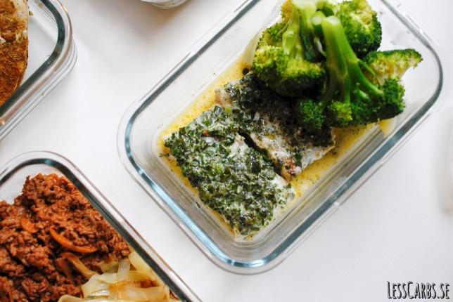 Lottens smör- och örtfisk