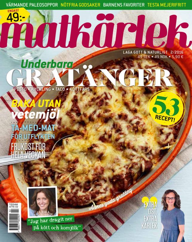 Upptäck Tidningen Matkärlek med mig och mina härliga medarbetare