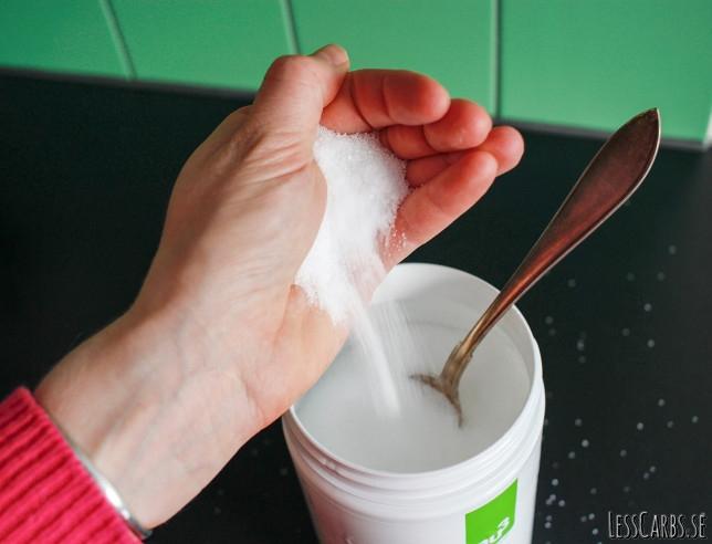 Söta dina bakverk med xylitol (björksocker)