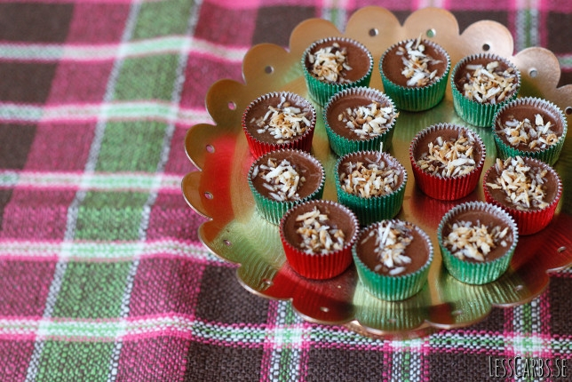 Kokos- och chokladfatbomb (ischoklad LCHF)