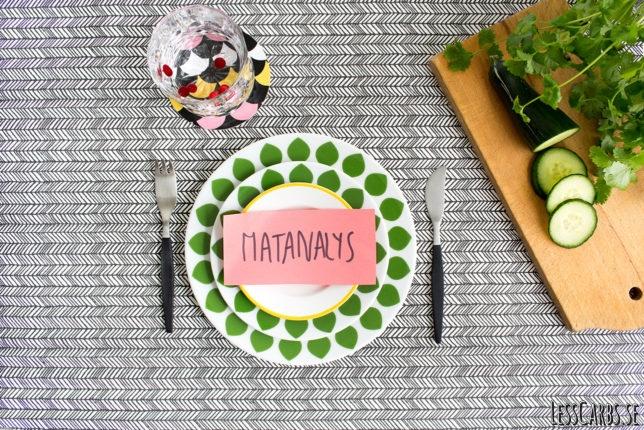 Gör en Matanalys och se om du äter rätt för din kropp