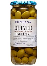 Dessa oliver (och väldigt många gröna framförallt) innehåller citronsyra.