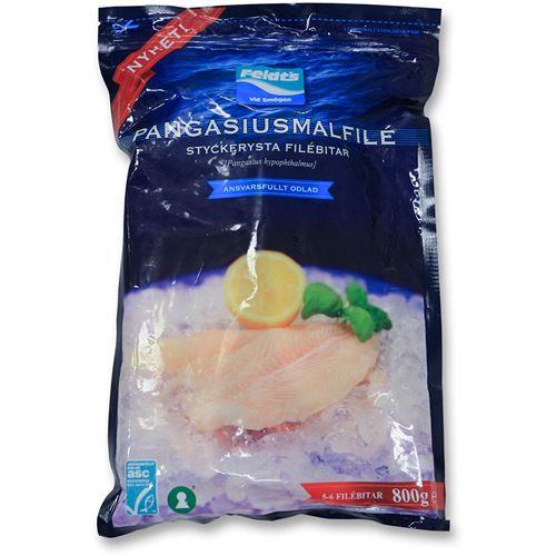 Hemsk fisk det här Pangasius. Ska skriva ett inlägg om bara den. Den ska undvikas till varje pris eftersom den odlas i diken, och innehåller mycket gifter plus att odlingarna utarmar markerna. Bojkott!! Många frysta fiskar och skaldjur innehåller citronsyra, pass på!
