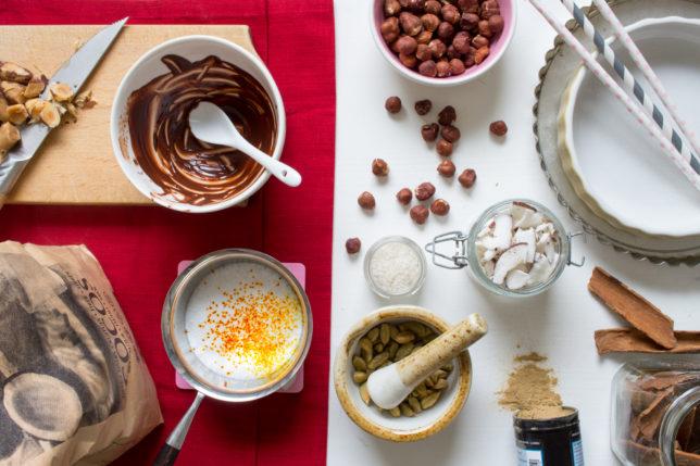 LCHF Juligt dessertbord – massor av godsaker!