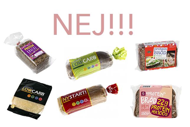 köpa bröd utan vetemjöl