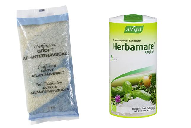 Lesscarbs rekommenderar Salt