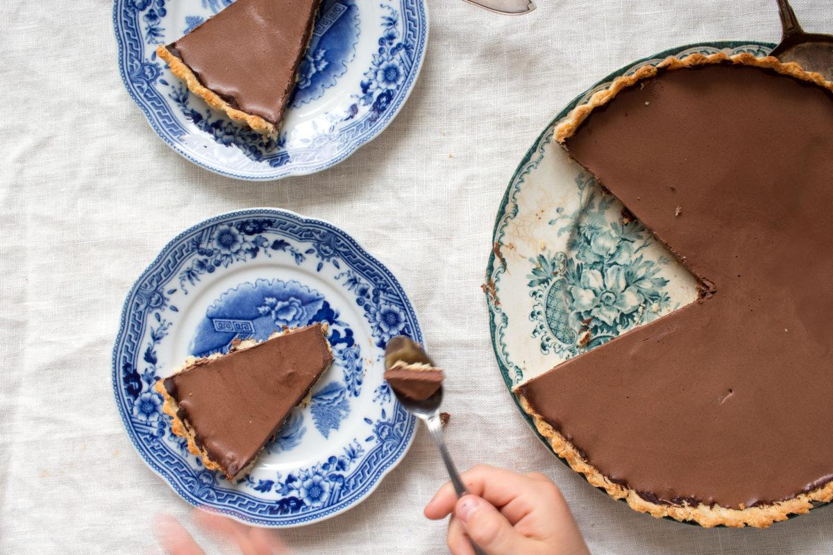 Superenkel chokladpaj – mejeri- och glutenfritt