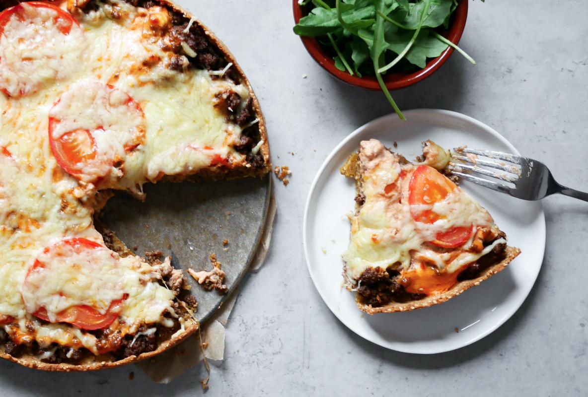 Tacopaj LCHF – perfekt middag till tacofredagen!