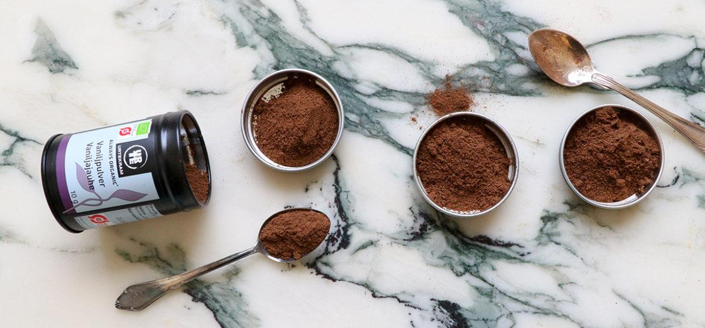 Vaniljpulver eller vaniljsocker