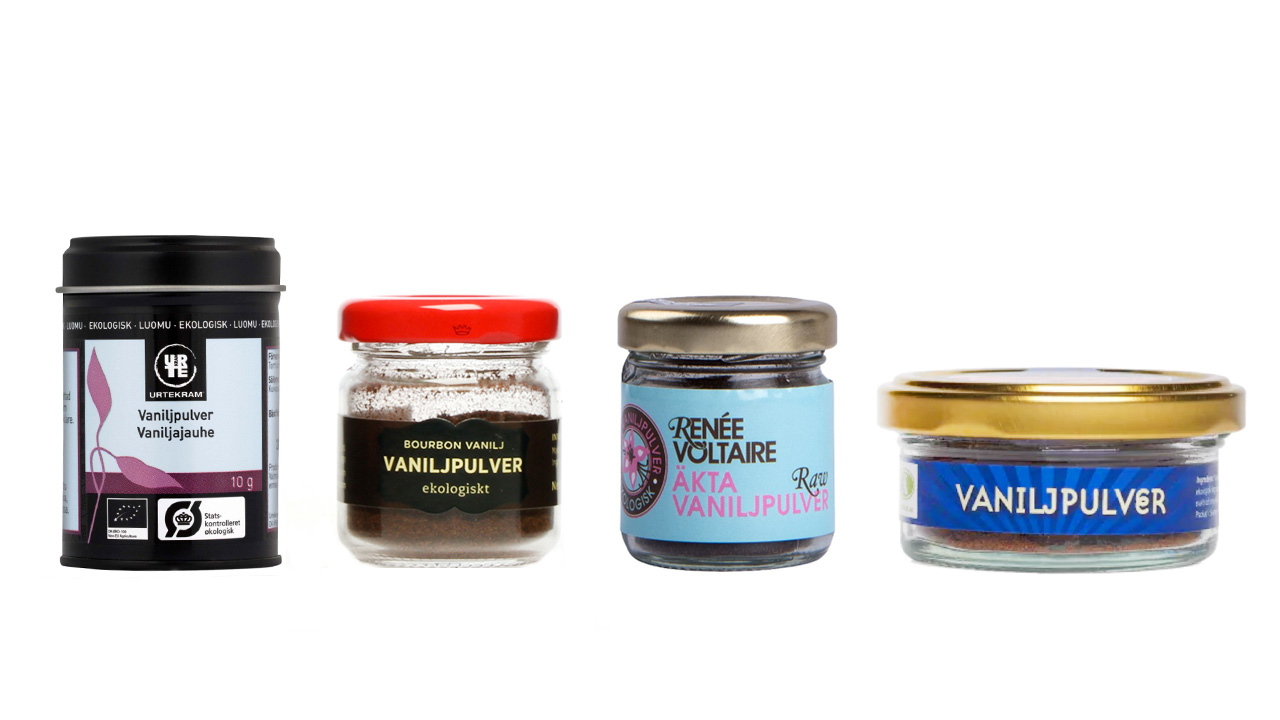 Vaniljpulver LCHF